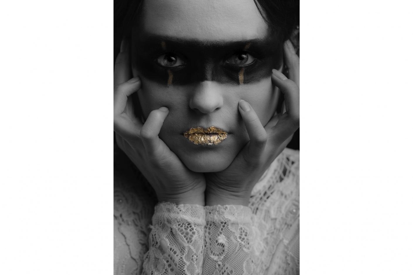 Jelle Pieter de Boer Portrait Photography Fashion Editorial Dasha Derhavets