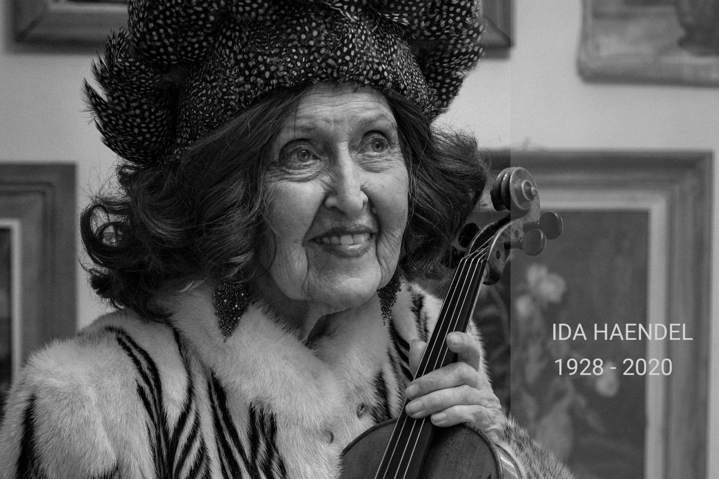 Ida Haendel   Jelle Pieter de Boer